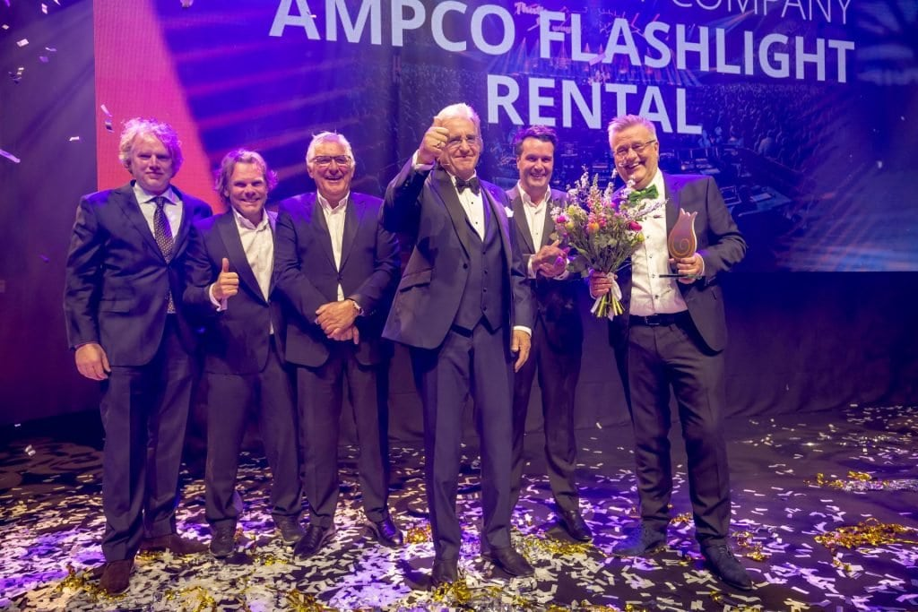 Dutch live entertainment Award Ampco Flashlight