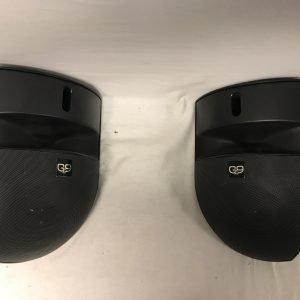 G9 Full range corner speakercabinets in blk
