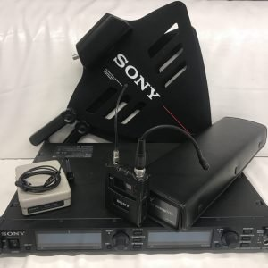 SONY DWR-R02D Microphone set