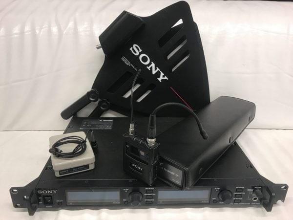 SONY DWR-R02D Microphone set