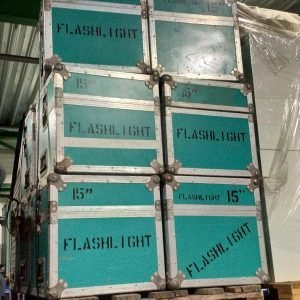 "10x 15"" LCD Display flightcase"
