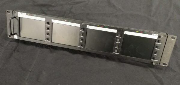 "Marshall 4x 4"", 19"" rackmount LCD Display"