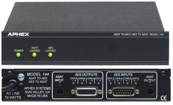 Aphex 8 Channel Bi-Directional AES/ADAT