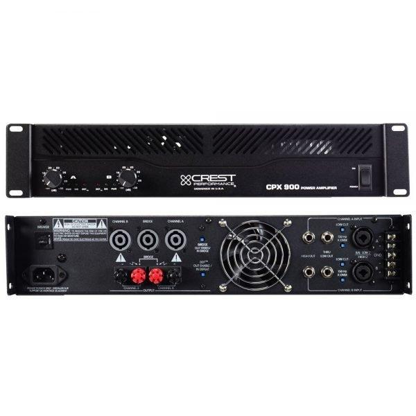 CREST CPX-900, 2x 300W VERSTERKER