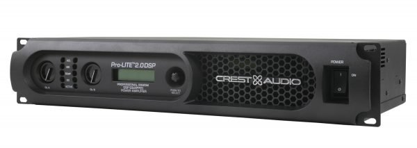 CREST Pro-Lite 2.0 DSP Power Amplifier
