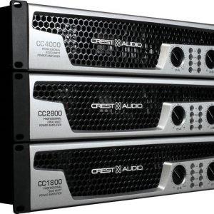CREST CC1800 2x 700W Amplifier 4 Ohm