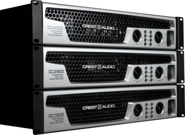 CREST CC1800 2x 700W Amplifier 4 Ohm