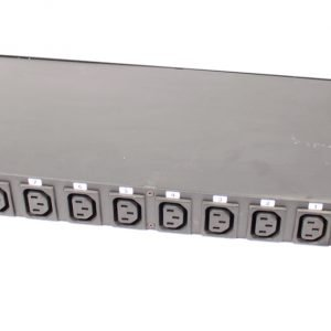 Link 1HE Rackbox 10 VDE sockets w/fuses