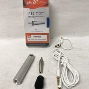 MicW Mini Microphone Omni incl windscr.