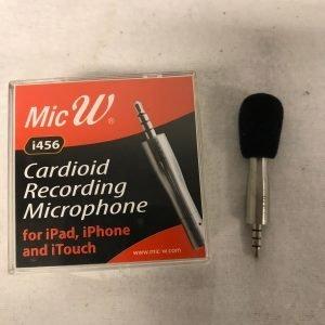 MicW Mini Microphone Cardioide Including