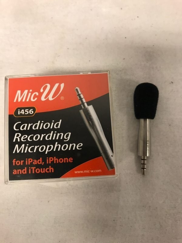 MicW Mini Microphone Cardioide Including