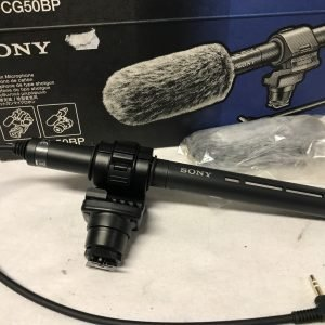 SONY ECM-CG50BP Shotgun Mic.