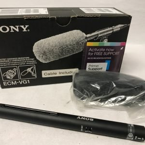 SONY ECM-VG1 Electret Condenser Mic.