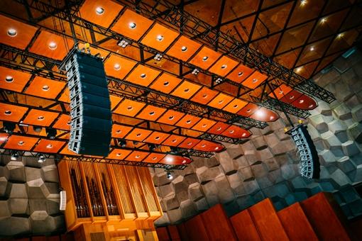 Oosterpoort: nieuwe audiosystemen